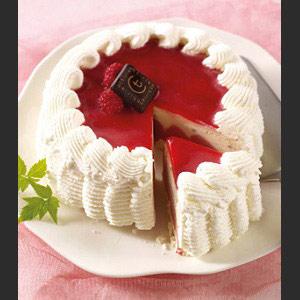 ... Desserts glacés à partager > Vacherin > Vacherin Nougat/Framboise