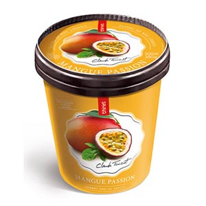 Pot 500 ml Sorbet Mangue passion